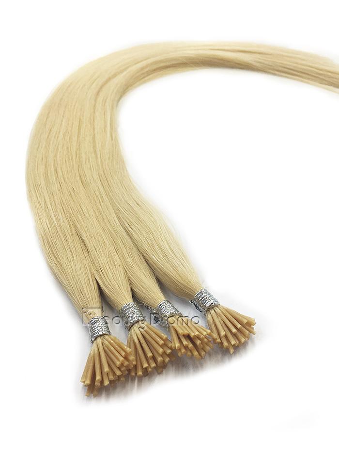 European Virgin Remy 100% Human Fusion Hair, I-Tip 120S, 70g