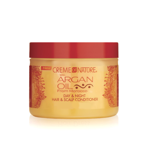 Creme of Nature Argan Oil from Morocco Day & Night Hair & Scalp Conditioner 4.76 oz