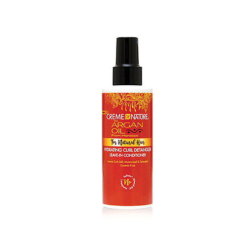 Creme of Nature Argan Oil from Morocco Hydrating Curl Detangler Leave-In Conditioner 4.23 oz