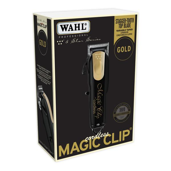 Wahl Magic Clip Cordless Clipper Gold Limited Edition 8148