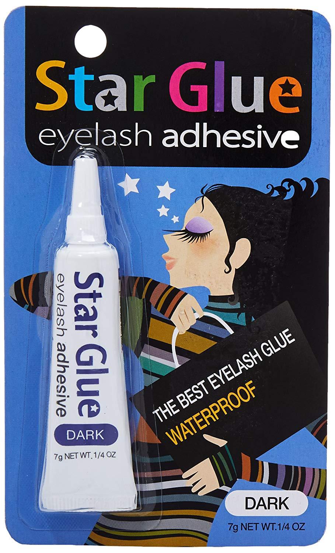 Star Glue Eyelash Adhesive 7g Net Wt .1/4oz (Dark)