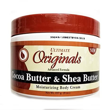 Ultimate Originals Therapy Cocoa Butter & Shea Butter Body Cream 8 oz