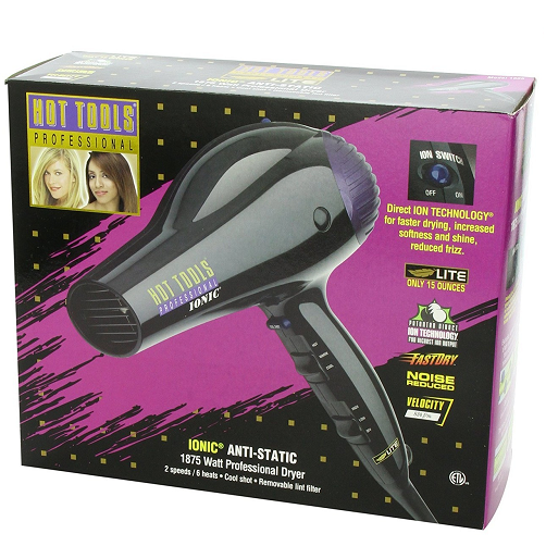 Hot Tools Professional 1875 Watt Anti-Static Hair Dryer 1035