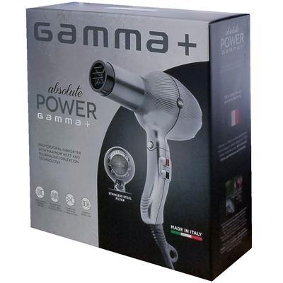 GAMMA + Italia ABSOLUTE POWER DRYER SILVER