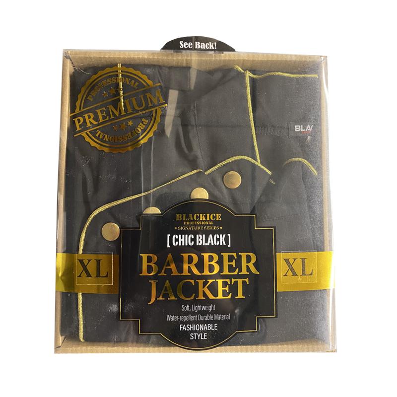 Black Ice Professional Premium Barber Jacket CHIC BLACK