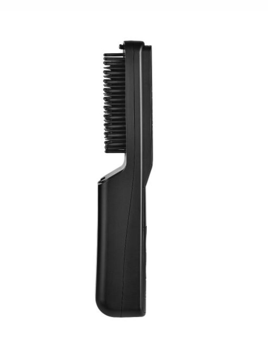 Stylecraft Heat Stroke Wireless Hot Beard Brush - Matte Black