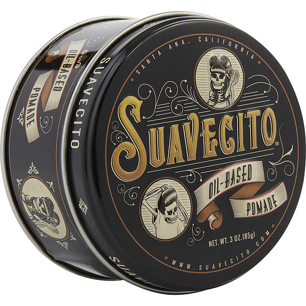 Suavecito Pomade Oil Based Great for slick styles 4 oz.