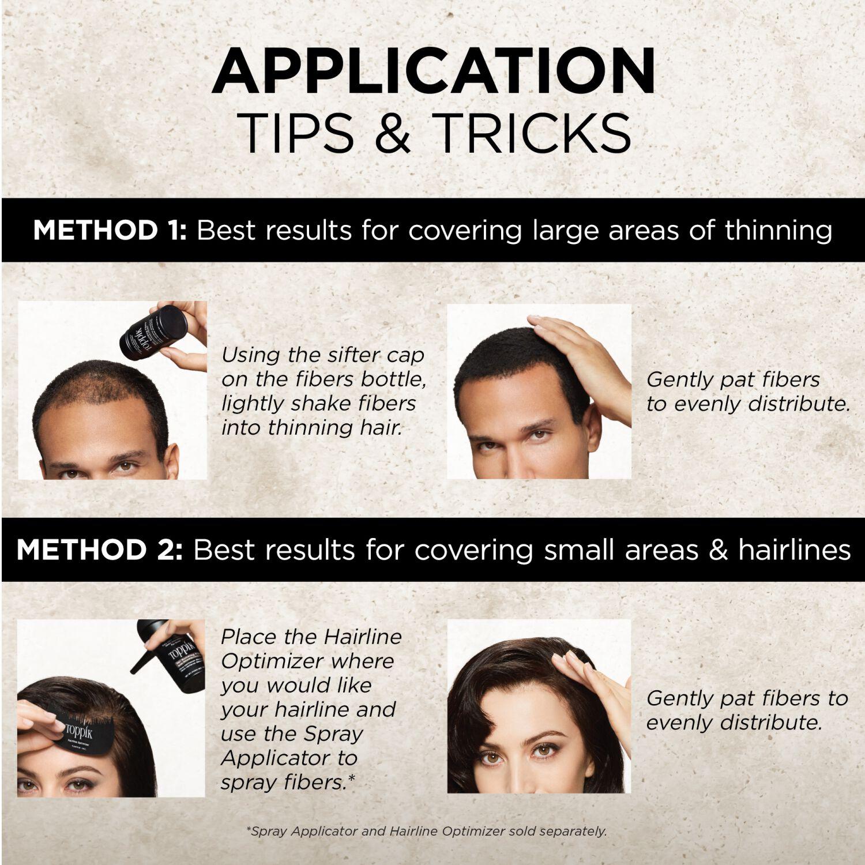TOPPIK Hair Building Fiber Full Hair Instantly BLACK 0.97 oz.