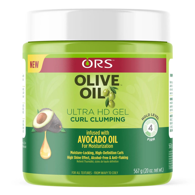 Organic Root Stimulator Olive Oil Ultra HD Curl Clumping Gel 20.50 oz.