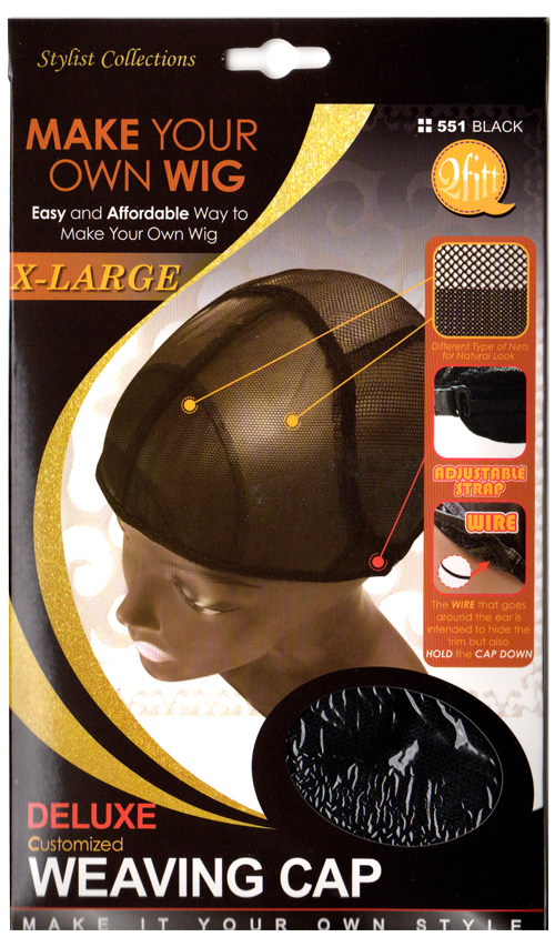M&M HeadGear Qfitt Customized Deluxe Weaving Cap EXTRA LARGE #551