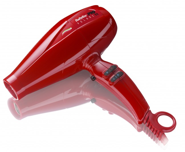 BaByliss®PRO Nano Titanium Volare® V1 Full-Size Hair Blow Dryer RED