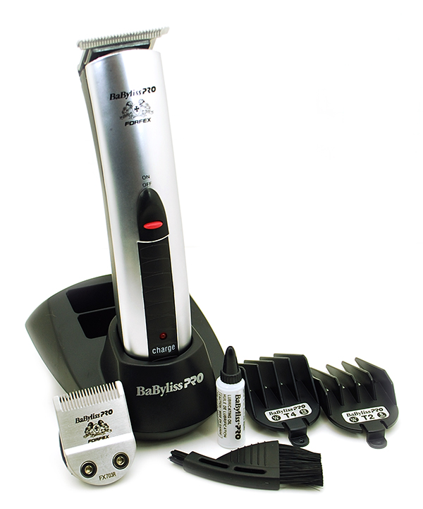 BaByliss PRO FORFEX Professional Cord/Cordless Trimmer with Charging Stand 780