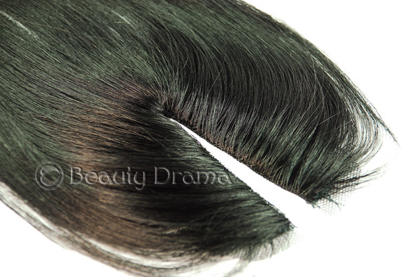 Model Model Pose Invisible Part Closure 100% Human Hair MasterMix