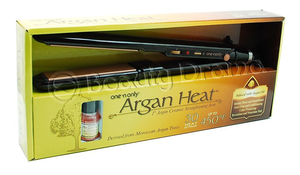 "One 'n Only Argan Heat Ceramic 1"" Flat Iron"