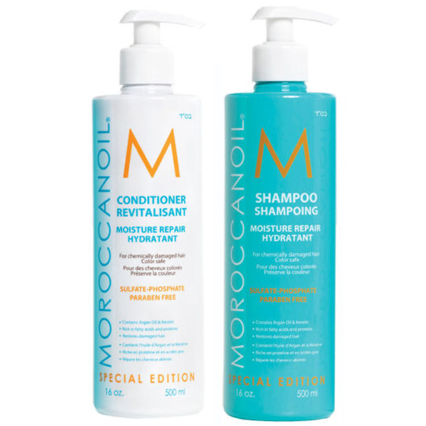 Moroccanoil Moisture Repair Shampoo & Conditioner 16.9 oz Duo
