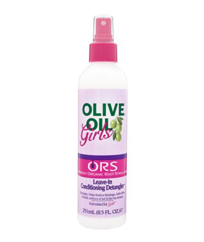 ORS Organic Root Stimulator Olive Oil Girls Leave In Conditioning Detangler 8.5 oz