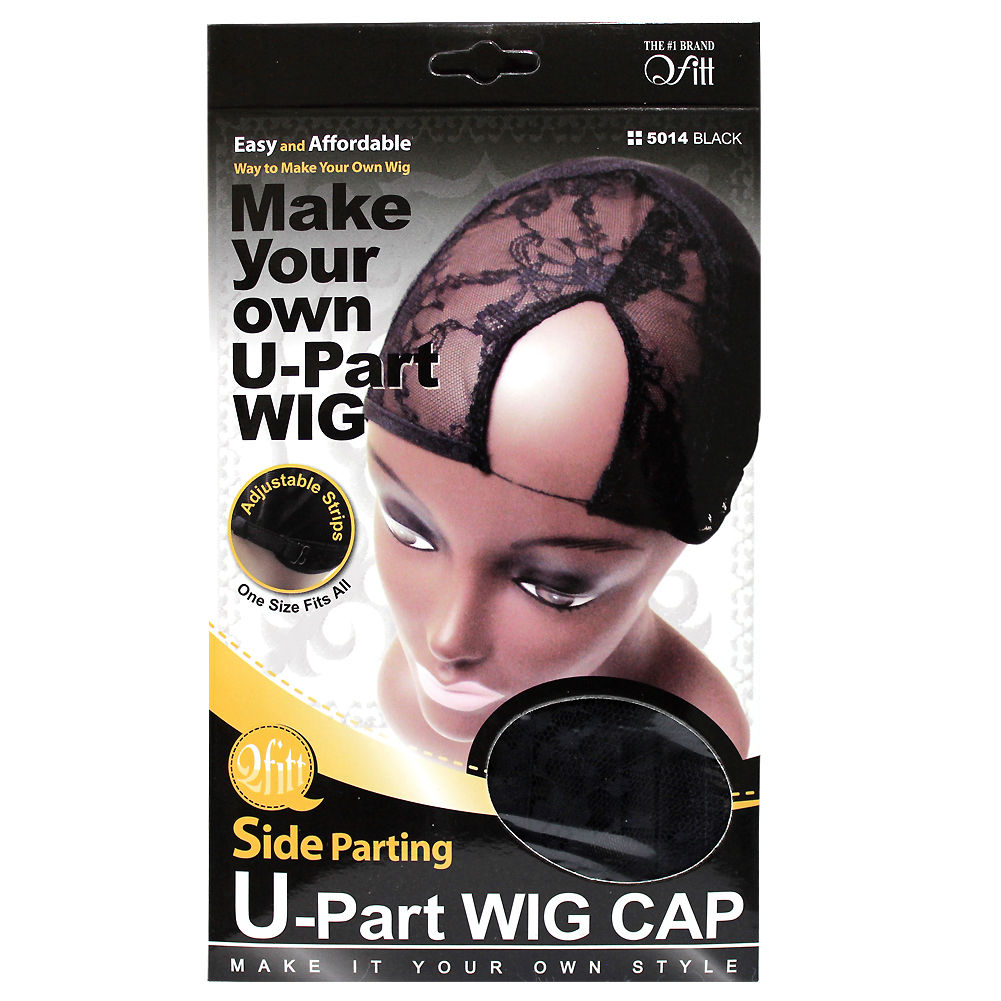 Qfitt Side Parting U-Part Wig Cap 5014
