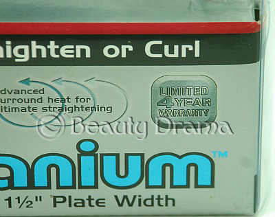 "BaByliss Pro Nano Titanium Ultra Thin -1-1/2"" Flat Iron BABNT3073T"