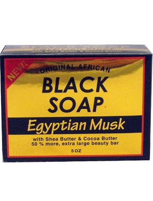 Sunflower Black Soap Egyptian Musk 5 oz