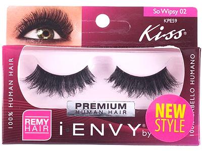 Kiss i ENVY 100% Human Eyelash So Wispy 02 KPE59
