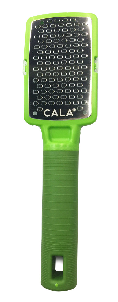 Cala Silky Glide Stainless Steel Micro Foot File Green