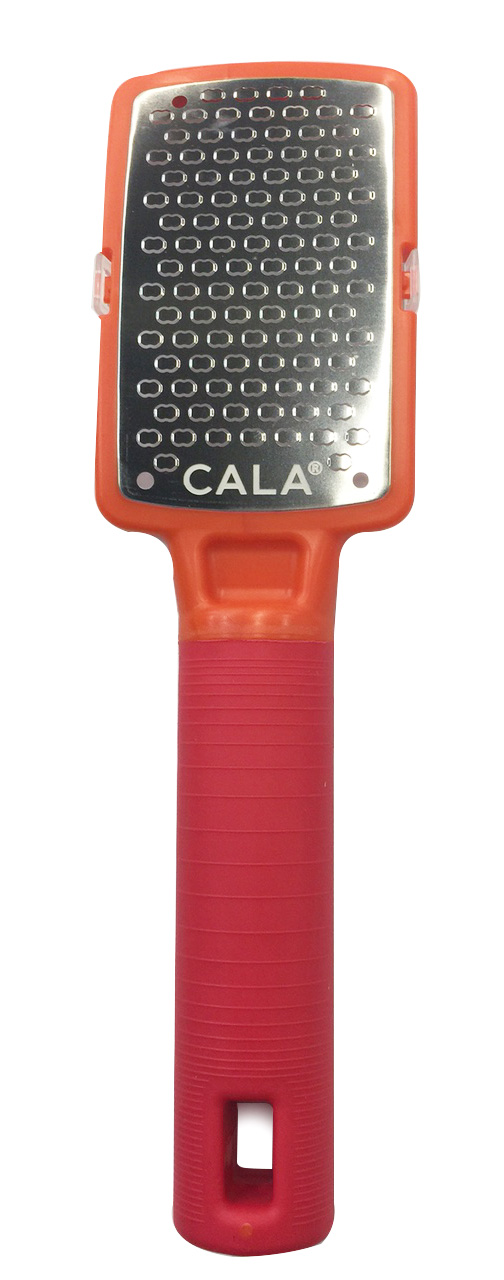 Cala Silky Glide Stainless Steel Micro Foot File Orange