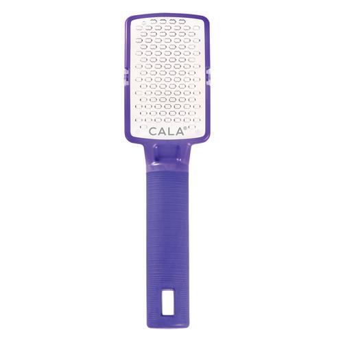 Cala Silky Glide Stainless Steel Micro Foot File Purple