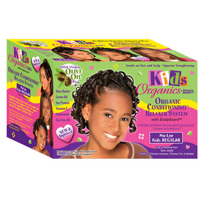 Africa\'s Best Kids Organics Natural Conditioning No-Lye Relaxer System