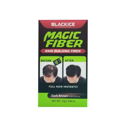 Black Ice Hair Spray >> BLACKICE Magic Fiber Hair Building Fiber DARK BROWN