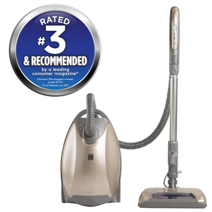 Pet-Friendly Ultra Plush Canister Vacuum