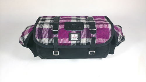 Carradice Barley Limited Edition Harris Tweed Bramble