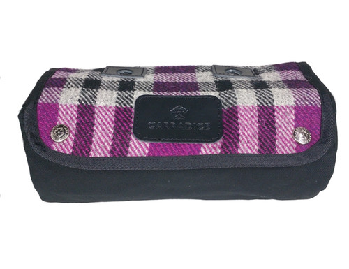 Carradice Zipped Roll Limited Edition Harris Tweed Bramble