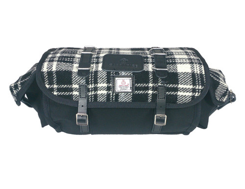 Carradice Barley Limited Edition Harris Tweed Mono Check