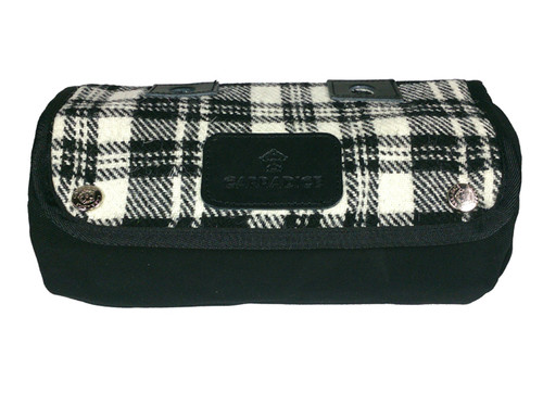 Carradice Zipped Roll Limited Edition Harris Tweed Mono Check
