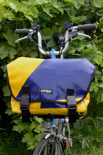 UPSO Ferrybridge Folder - For Brompton - Blue/Yellow