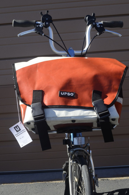 UPSO Ferrybridge Folder - For Brompton - Orange/White