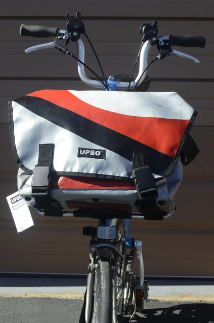 UPSO Ferrybridge Folder - For Brompton - Silver/Black/Red/White
