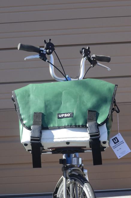 UPSO Ferrybridge Folder - For Brompton - Green/White