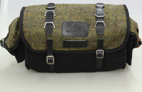 Carradice Barley Limited Edition Harris Tweed Black