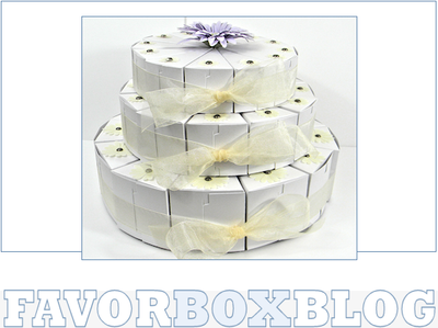 Centerpiece Cake Boxes