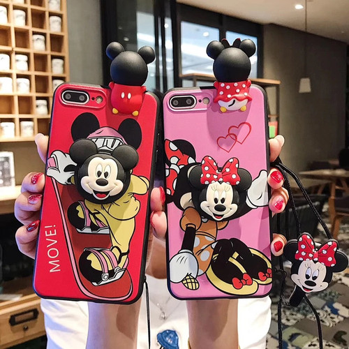 Mickey/Minnie Mouse Inspired iPhone Case