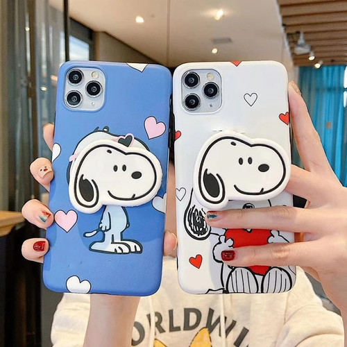 Snoopy Peanuts Cartoon iPhone Case