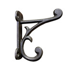 HK34E-NOR_MC (FREE LOWER 48 DOMESTIC SHIPPING 144 pc. Case) Authentic Classic Antique Replica Cast Iron | Old School House Coat Room Hook | Original Natural Hand Oil Rubbed Iron w / Vintage Dark Worn Aged Patina