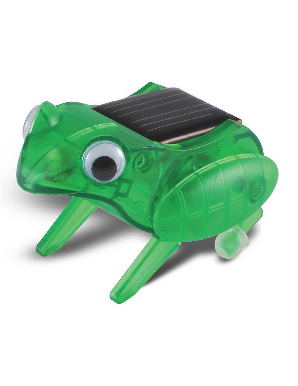 Includes Solar Cell Recommended Age 10+ Dimensions 2.6 x 1.8 x 1.7 OWI OWI-MSK672 Happy Hopping Frog Educational Mini Solar Kit Have Approximately Twenty-five Parts to Assemble