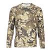 Simms Solarflex Crewneck Shirt Riparian Camo