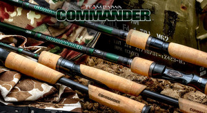 Daiwa TD Commander rod series now available.