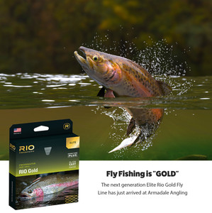 The all new Elite Rio Gold Fly Line