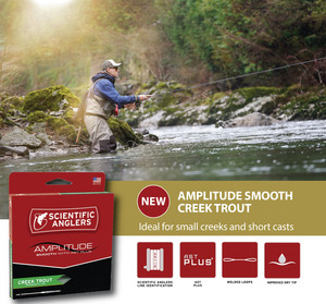 Scientific Anglers Amplitude Smooth Creek Trout Line