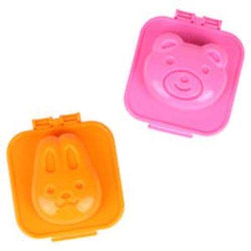Set 2 khuôn hình thỏ và gấu Kokubo