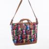 Huipile & Leather Suitcase